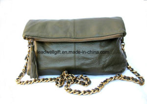Leather Purse Bag Vintage Crossbody Handbag Clutch Purse pictures & photos