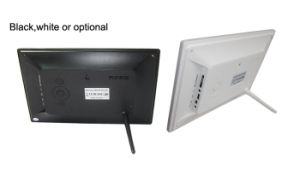 """Vesa Wall Mount or Desktop 10"""" LED Digital Picture Frame with Video Loop (MW-1026DPF) pictures & photos"""