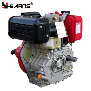 Diesel Engine Recoil Start with Camshaft Red Color (HR186FS) pictures & photos