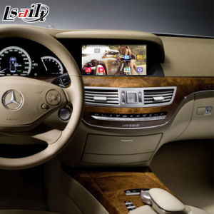 Android GPS Navigation System for Mercedes-Benz S Class W221 Video Interface pictures & photos