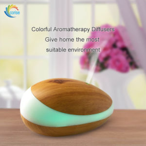 200ml Wood Grain Ultrasonic Aroma Cool Mist Humidifier Aromatherapy pictures & photos