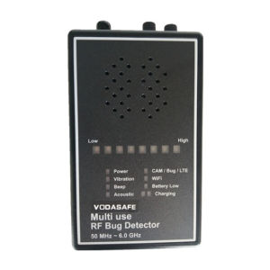 Multi Use RF Bug Detector with Acoustic Display Lens Finder Superhighly Sensitively Anti Eavesdropping All-Round Finder Spy Camera Detector pictures & photos
