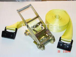 """2""""&50mm GS/Ce 5t Ratchet Tie Down Strap pictures & photos"""