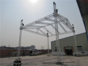 2017 Exhibition Show Booth Aluminum Truss Truss System Roof pictures & photos