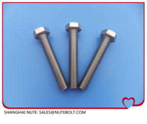 Stainless Steel Hex Head  Bolt DIN933 ANSI Full Thread pictures & photos