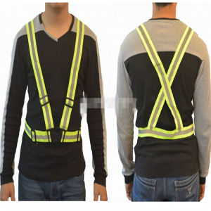 High Elastic Knitting Stripe Reflective Vest/Belt pictures & photos