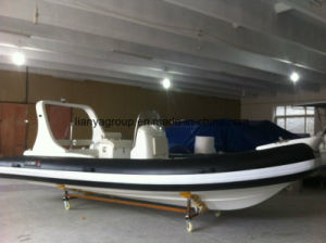 Liya 20feet Rhib Boat Manufacturer Rhib Rigid Hull Inflatable Boat pictures & photos