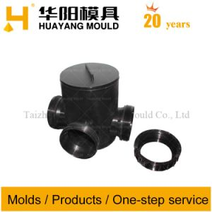 Plastic Pipe Fitting Injection Mould (HY083) pictures & photos