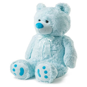 Cuddly Baby Blue Girls Bear pictures & photos