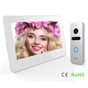 7 Inches Interphone Home Security Video Door Phone Intercom pictures & photos