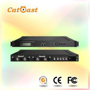 4* DVB-C RF out MPEG4 HDMI/Sdi Input and RF Asi Output 1080P HD Encoder Modulator pictures & photos