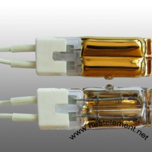 Gold Twin Tube Short Wave Infrared Lamp pictures & photos