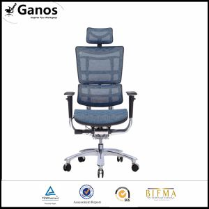 Wholesale Chrome High Back Ergonomic Mesh Office Chair with Plastic Armrest pictures & photos