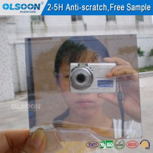 Olsoon 0.8-6mm Thickness Decorative Mirror Oval Mirror Bathroom Mirror Colored Mirror pictures & photos