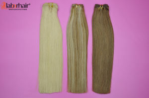 Unprocessesd Peruvian Virgin Hair Extensions Straight Ombre Human Hair Weft pictures & photos