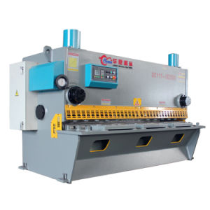 Chinese Made QC11y 16/2500 Hydraulic Guillotine Shearing Machine with Ce Certification pictures & photos