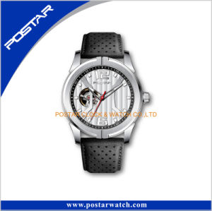 2016 Fashion Newest Design High Quality Leather Automatic Wrist Watches pictures & photos