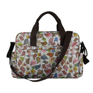 Ladies Fashion Leisure Mummy Handbag Changing Baby Diaper Bag pictures & photos
