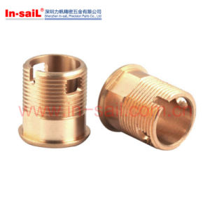 CNC Precision Machining Brass Turned Part Made in China Supplier pictures & photos
