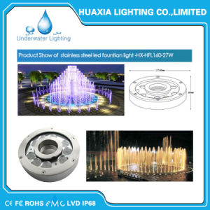 Waterproof DC24V Multi Color LED Fountain Nozzle Light pictures & photos