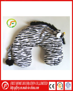 Africa Animal Zebra Toy Traveling Neck Cushion Pillow pictures & photos