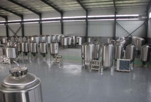 Hotel Draft Beer Machine, Stainless Steel Beer Brewing Equipment pictures & photos