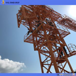 6ton Tower Crane Lifting Capacity Flat Top Tower Crane pictures & photos