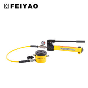 Single Acting Pancake Lock Nut Hydraulic Jack (FY-CLP) pictures & photos