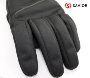 Savior New Private Model Touch Screen Function Heated Glove Skiing Glove pictures & photos