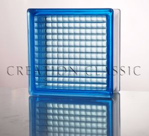 190*190*80mm Blue Parallel Glass Block pictures & photos
