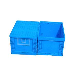 60L Cheap Collapsible Plastic Solid Box Container pictures & photos