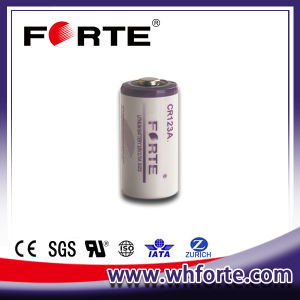 3.0V with 1400mAh Capacity Lithium Battery Cr123A pictures & photos