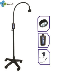 Full Aluminum Alloy Metal Steering Lamphead with 6 LED Bulbs Ks-Q6d Black Mobile Type, ABS Base with Lockable Wheels