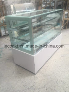 Commercial Free Standing Glass Modern Cake Cooler pictures & photos