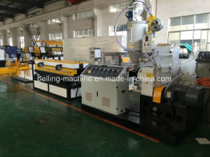 Plastic PVC/PP/PE Single Wall Corrugated Pipe Extruder/Making Machine pictures & photos