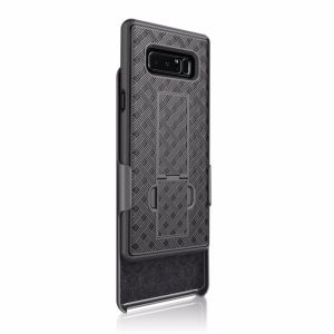 Weave Pattern Holster Combo Belt Clip Phone Cover Case for Samsung Note 8 pictures & photos