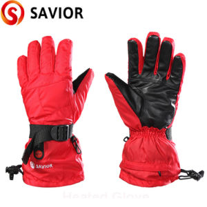 Winter Rechargeable Heated Glove for Women pictures & photos