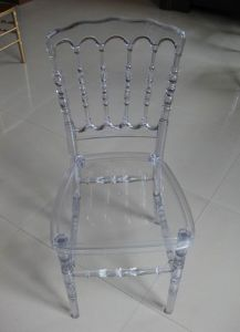 Transparent Acrylic Resin Napoleon Chair pictures & photos