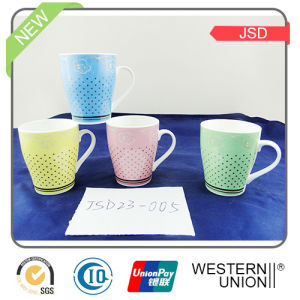 14oz Porcelain Milk Mug pictures & photos