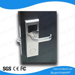 Stainless Steel ANSI Mortise Smart Card Electronic Lock pictures & photos