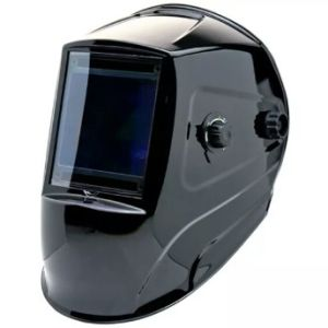 Super Big Viewing Area Auto-Darkening Welding Helmet CE ANSI (9801 black)