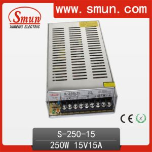 250W 15VDC Single Output Power Supply with CE RoHS pictures & photos