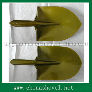 Agricultural Tool Steel Golden Color Shovel Head and Spade pictures & photos