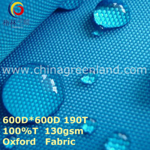 Woven Polyester Oxford Plain Fabric for Garment Bag (GLLML274) pictures & photos