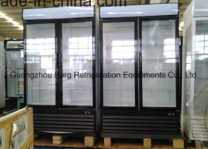 Fan Cooling Upright Double Glass Door Fridge (LC-2FC) pictures & photos
