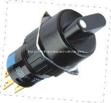 Mini 2-POS Round Turn Switch pictures & photos