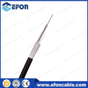 PE Jacket Glass Yarn Armored Fiber Optical Cable (GYFXY-2) pictures & photos