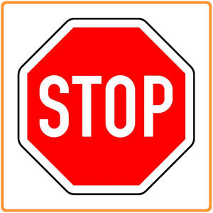 Screen Printed Traffic Road Signs Manufacturer Safety Stop Signs pictures & photos
