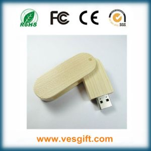 Low Price OEM Wood USB Flashdrive 8GB CE FCC RoHS pictures & photos