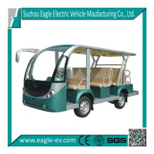 Passenger Car, 11 Seat, Widely Used by Resort, Hotel, Park, Zoo, 72V 5kw, Curtis Controller, Automatic Drive System pictures & photos